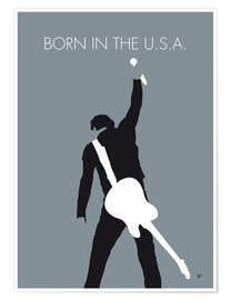 Premiumposter Bruce Springsteen - Born In The U.S.A.