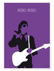 Premiumposter David Bowie - Rebel Rebel