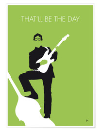 Premiumposter  Buddy Holly - That'll Be The Day - chungkong