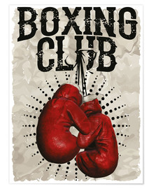 Premiumposter  Boxing Club