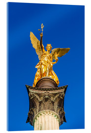 Akrylglastavla  Angel of peace in Munich - Dieterich Fotografie