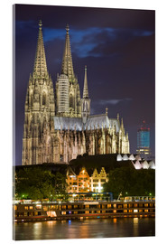 Akrylglastavla  cathedral of cologne - Dieterich Fotografie
