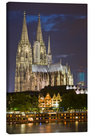 Canvastavla  cathedral of cologne - Dieterich Fotografie