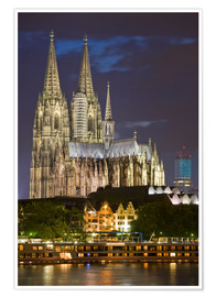 Premiumposter  cathedral of cologne - Dieterich Fotografie