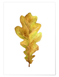 Premiumposter Oak Leaf