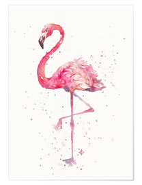 Premiumposter  A Flamingos Fancy - Sillier Than Sally