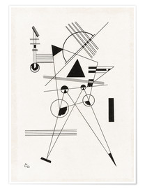 Premiumposter  Lithograph no. I - Wassily Kandinsky