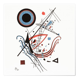 Premiumposter  Lithograph blue - Wassily Kandinsky