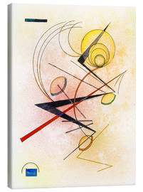 Canvastavla  Small hot - Wassily Kandinsky