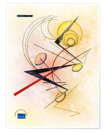 Poster  Small hot - Wassily Kandinsky