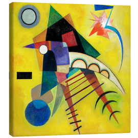 Canvastavla  white point - Wassily Kandinsky