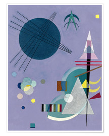 Premiumposter  Violet Green - Wassily Kandinsky