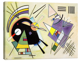 Canvastavla  Black and Violet - Wassily Kandinsky