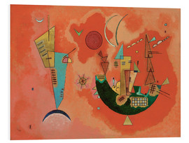 PVC-tavla  With and against - Wassily Kandinsky