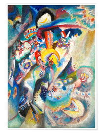 Premiumposter  Moscow II (Red Square) - Wassily Kandinsky