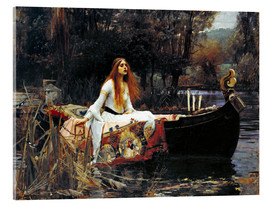 Akrylglastavla  The Lady of Shalott - John William Waterhouse