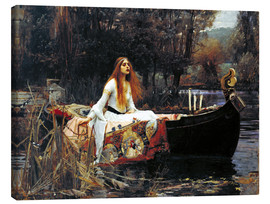 Canvastavla  The Lady of Shalott - John William Waterhouse