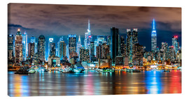 Canvastavla  Midtown Skyline, New York - Sascha Kilmer