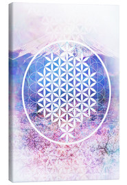 Canvastavla  Flower Of Life - Moon Berry Prints
