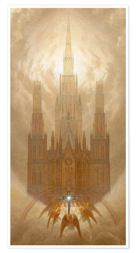 Premiumposter The Cathedral