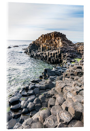 Akrylglastavla  The Giants Causeway - Michael Runkel
