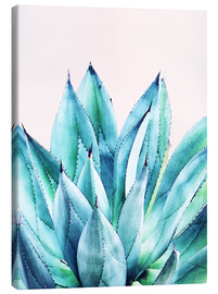 Canvastavla  Agave watercolor - Uma 83 Oranges