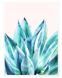 Premiumposter  Agave watercolor - Uma 83 Oranges