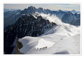 Premiumposter  Mountaineers and climbers - Peter Richardson