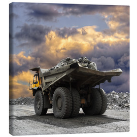 Canvastavla  Severe weather in the gravel pit