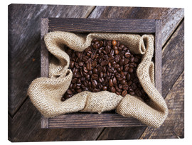 Canvastavla  freshly roasted