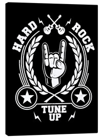 Canvastavla  Hard rock - Durro Art