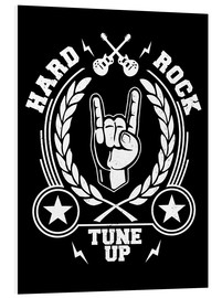 PVC-tavla  Hard rock - Durro Art