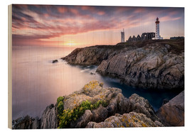 Trätavla  Lighthouse of St. Mathieu (France / Brittany) - Kristian Goretzki