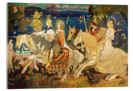 Akrylglastavla  Riders of the Sidhe - John Duncan