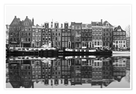 Premiumposter  Reflections of Amsterdam - George Pachantouris