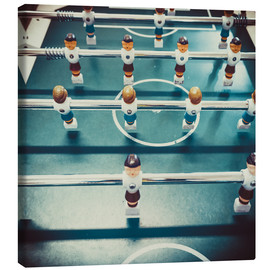 Canvastavla  Old Foosballtable