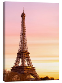 Canvastavla  Beautiful Light in Paris - Mike Clegg Photography