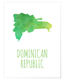 Premiumposter Dominican Republic