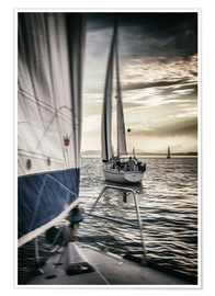 Premiumposter Sailing