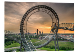 Akrylglastavla  Tiger & Turtle Magic Mountain Duisburg - Dennis Stracke