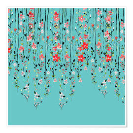Premiumposter Floral Wall