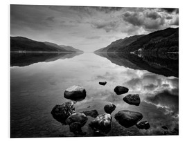 PVC-tavla  Loch Ness, Scotland - Martina Cross