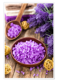 Premiumposter  lavender bath salt