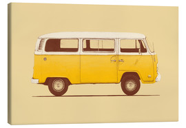 Canvastavla  Yellow Van - Florent Bodart