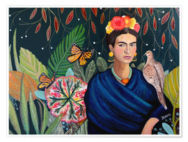 Poster  Frida - Sylvie Demers