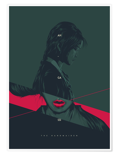 Premiumposter The Handmaiden