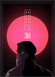 Canvastavla  Blade Runner - 2049 - Fourteenlab
