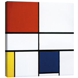 Canvastavla  Composition C (No.III) with Red, Yellow and Blue - Piet Mondriaan