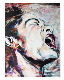 Premiumposter  Billie Holiday, I'm a Fool to Want You - Christel Roelandt