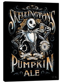 Canvastavla  Jack Skellington's Ale - Barrett Biggers